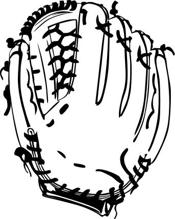 baseball bat outline