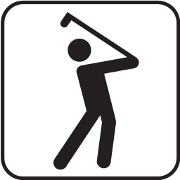 Golfing Icon 2 Recreation Sports Golf Golf 2 Golfing Icon 2 Png Html