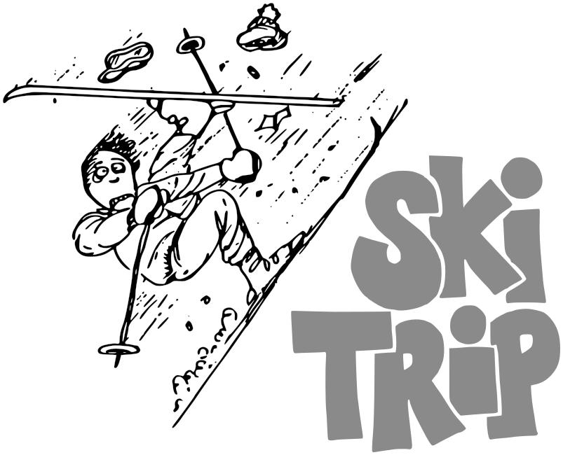 ski trip w words recreation sports ski ski 3 ski trip w words png