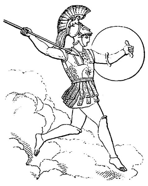 free fun coloring pages myths - photo#26