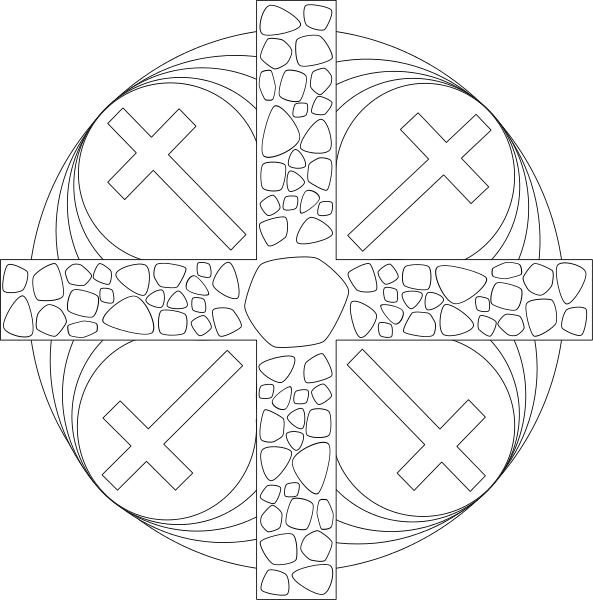 Simple Tribal Tattoo For Men On Chest in addition Passiontide Mandala moreover Gothic Windows Of Cathedrals 25883209 as well Shen Sauhykey also Collectioncdwn Cool Christian Cross Drawings. on gothic cross clipart