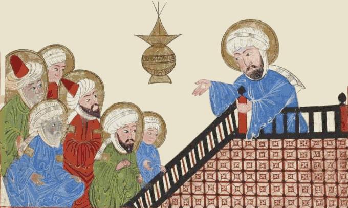 muhammad preaching his final sermon religion mythology islam