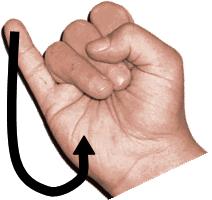 sign language photo j unlabeled
