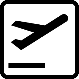 departures pictogram   signs symbol  bw  transportation airplane clip art free airplane clipart border