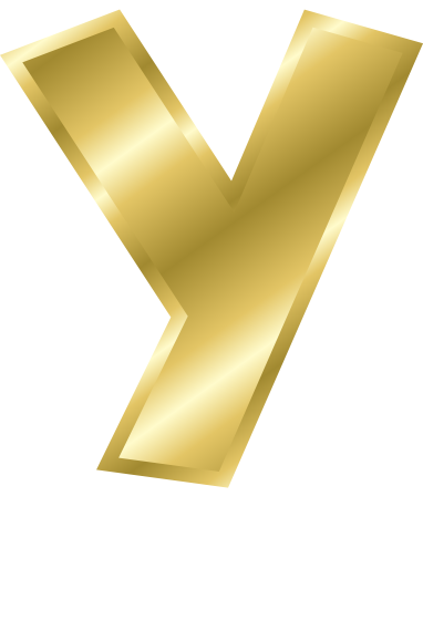 y letter in gold - photo #2