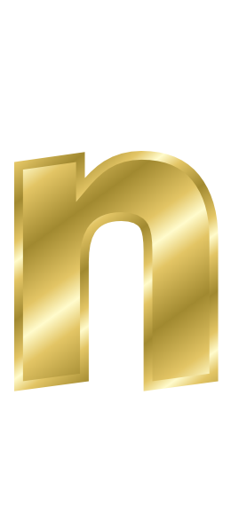 n letter in gold on quotesfab gold letter n signs symbol alphabets numbers gold gold 889
