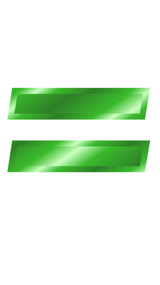green metal equal sign - /signs_symbol/alphabets_numbers/green_metal ...