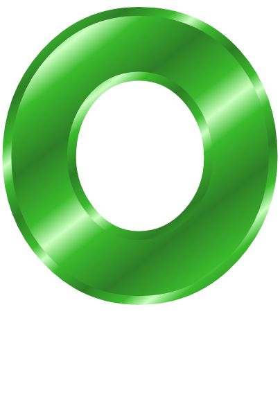 green metal letter capitol o   signs symbol  alphabets numbers  green metal  green metal letter letter a clip art images letter a clipart for colouring