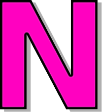 capitol n pink   signs symbol  alphabets numbers  outlined clipart downloads for free clipart download png