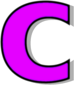 lowercase c purple   signs symbol alphabets numbers