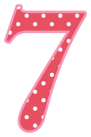 Number 7 On A Transparent Background, HD Png Download - kindpng | 465x310