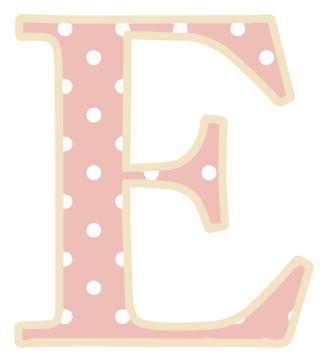 letter E   /signs_symbol/alphabets_numbers/polka_dot/upper_case