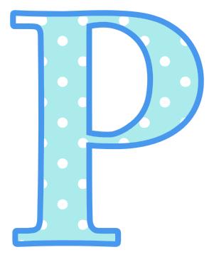 letter p   signs symbol  alphabets numbers  polka dot  upper letter p clipart images letter p words clipart