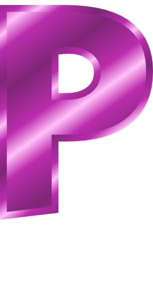 purple metal letter capitol p   signs symbol  alphabets letter p clipart fancy letter p words clipart