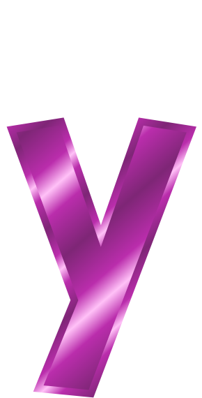 Purple metal letter y signssymbolalphabetsnumbers purple metal letter y sciox Images