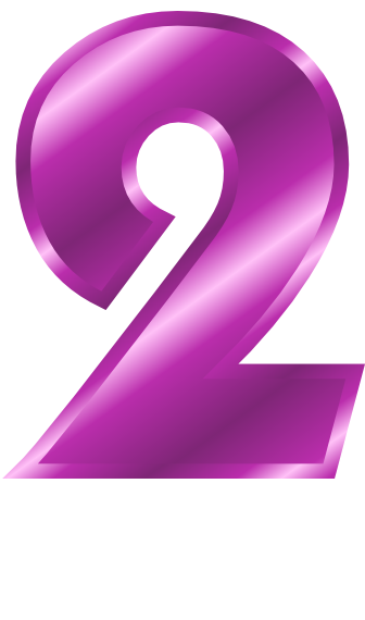 purple metal number 2 - /signs_symbol/alphabets_numbers/purple_metal on