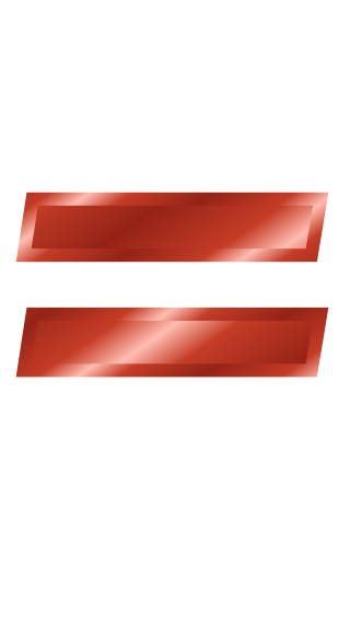 red metal equal sign - /signs_symbol/alphabets_numbers/red ...