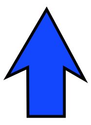 arrow sharp blue up   signs symbol  arrows  arrow large clipart of arrows pointing right clip art of arrows in a row