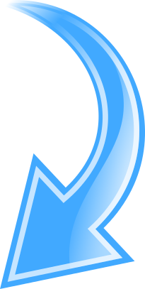 arrow curved blue down   signs symbol  arrows  curved arrow curved arrow clip art black curved arrow clip art direction