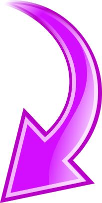 arrow curved purple down - /signs_symbol/arrows/curved_arrow/arrow_curved_purple_down.png.html