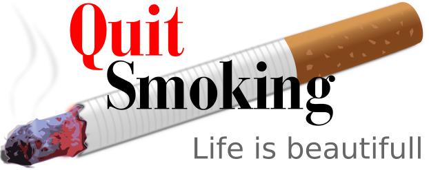 quit smoking life is beautiful