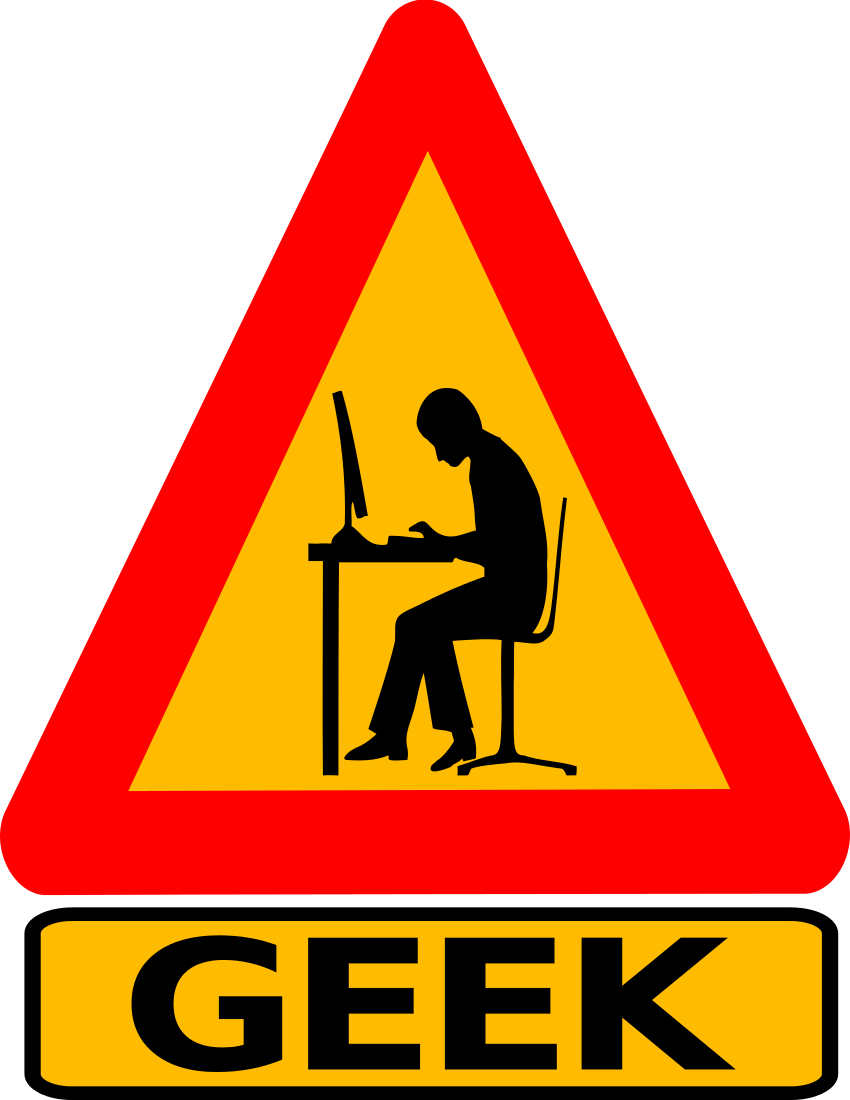 geek warning labeled   signs symbol  funny signs  geek warning clip art anime warning clip art free images