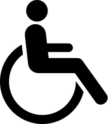 wheelchair accessible 2   signs symbol  handicap wheelchair clipart equal housing wheelchair clip art png