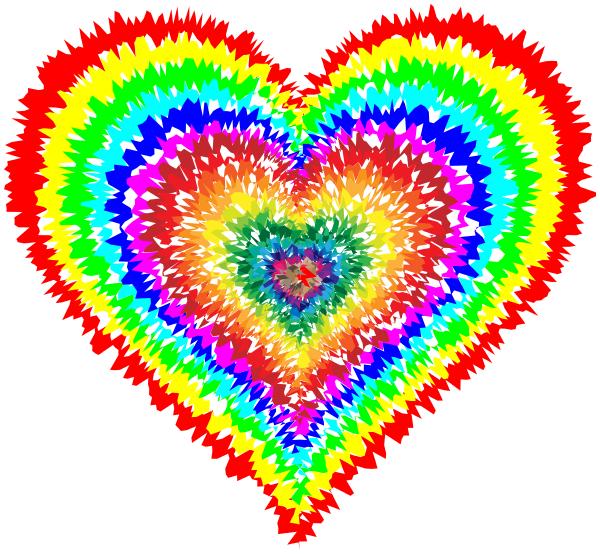 Tie Dye Heart - /signs_symbol/love/hearts/Tie_Dye_Heart.png.html