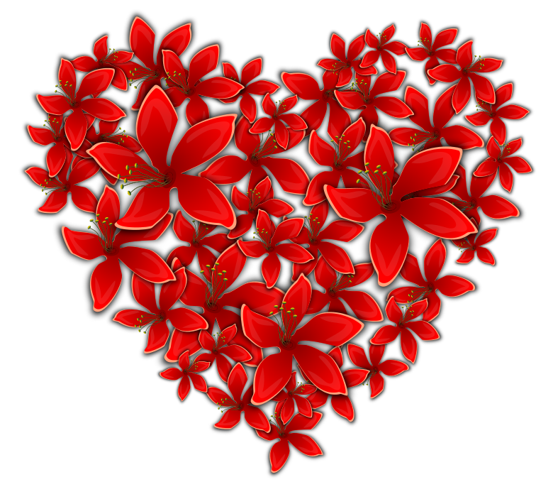 flowery heart - /signs_symbol/love/hearts/flowery_heart.png.html