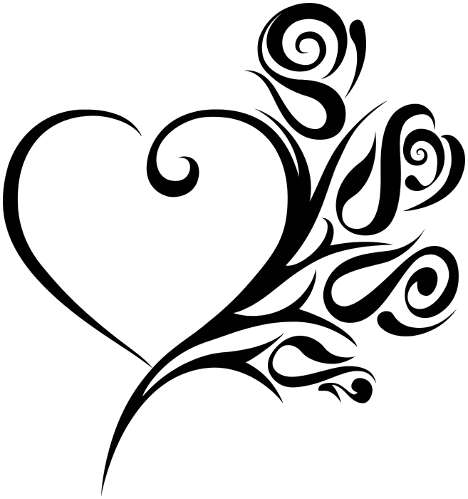 Tribal heart roses signssymbolloveheartstribalheartroses download pngtransparent thecheapjerseys Image collections