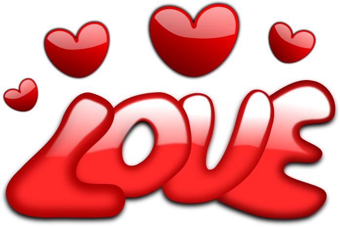 Love Word N Hearts
