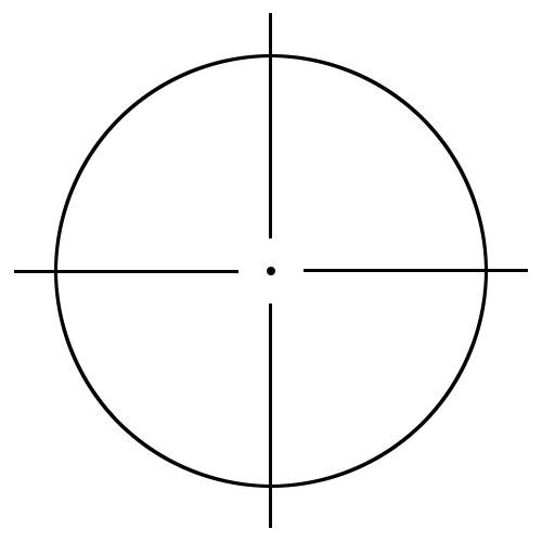 crosshair 1 large - /signs_symbol/targets/crosshair/crosshair_1_large ...