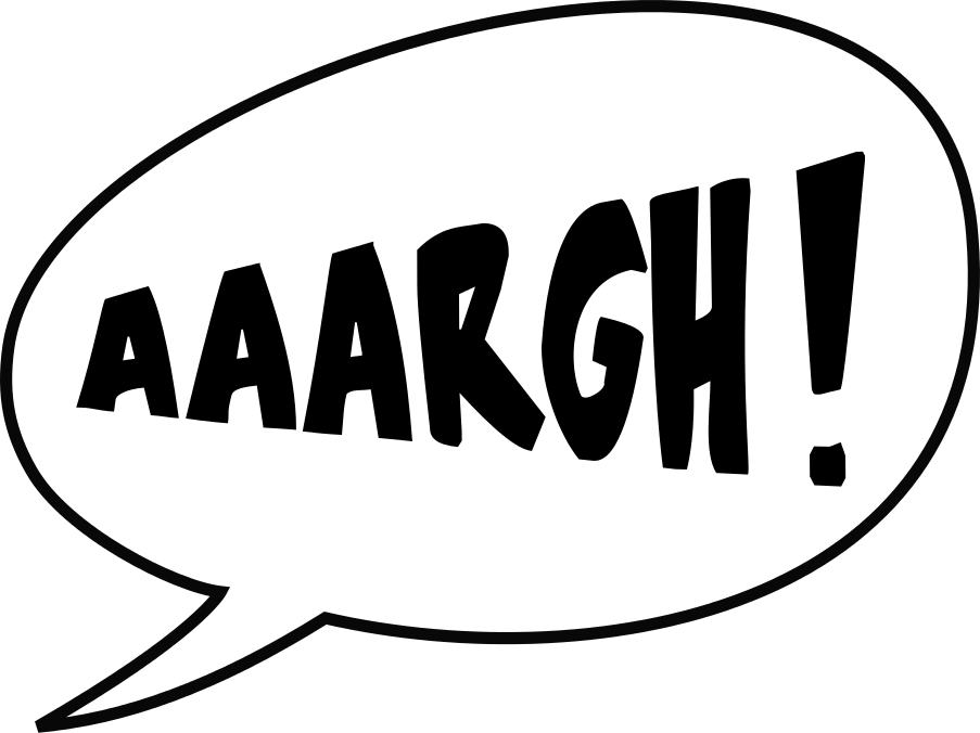 aaargh BW - /signs_symbol/words/aaargh_BW.png.html