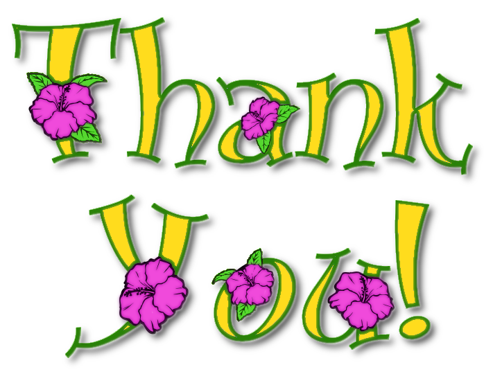 thank you note floral 3 signs symbol words thank you