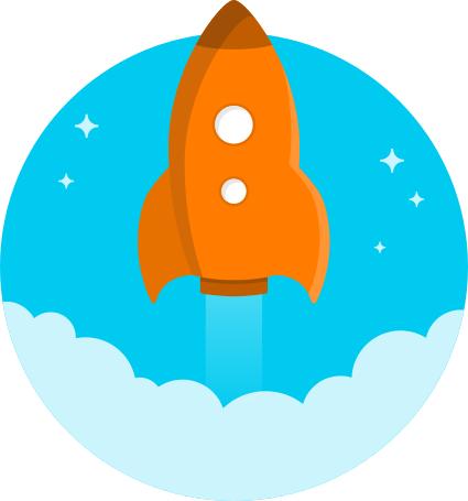 rocket icon 2   space  ships  spaceship cartoons  rockets 2 cartoon rocket clipart Cartoon Rocket Ship