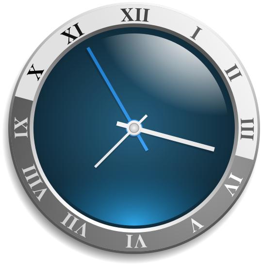analog wall clock roman numerals