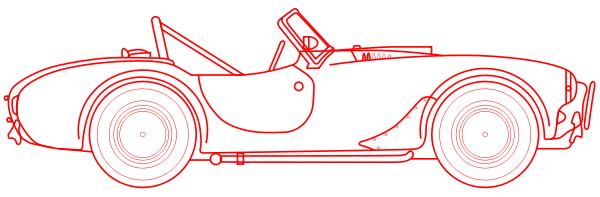 Car blueprint side red transportationcarblueprints download pngtransparent malvernweather Choice Image