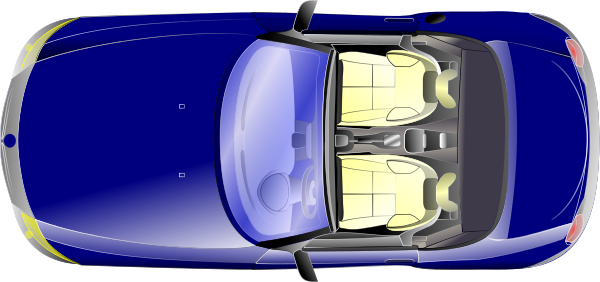 Car Top View >> convertible blue top view - /transportation/car/sports_car/convertible/convertible_blue_top_view ...