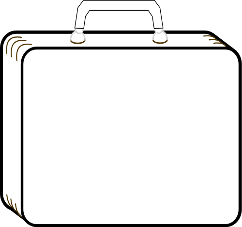 suitcase outline , /travel/luggage/luggage_2