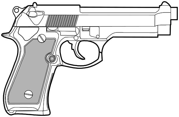 9mm Pistol Weapons Guns Pistol 9mm 9mm Pistol Png Html