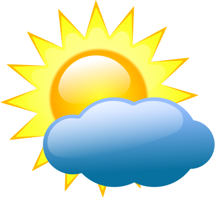 bright sun some clouds - /weather/sun/sun_w_clouds ...