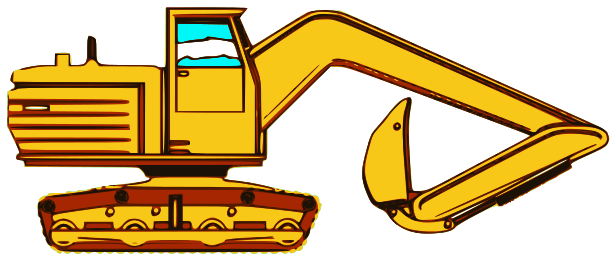 backhoe   working  vehicles  backhoe  backhoe png html backhoe clip art clip art backhoe clipart free